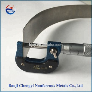 Gr5 titanium alloy foil / Ti6Al4V titanium foil