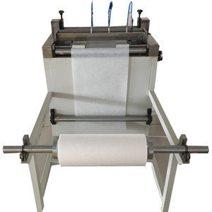 High Quality Semi-auto knife Paper Pleating Production Line of Manufacturing Equipment Knife Filter Paper Filter