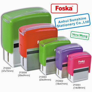 Hot Sale Different Sized Self-inking Rubber Stamp