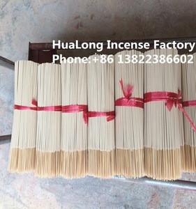 India machine making raw material 8inch natural white agarbatti bamboo incense stick
