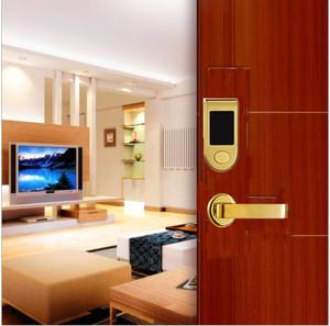 K6100 bright SUS304 American standard lock core hotel lock