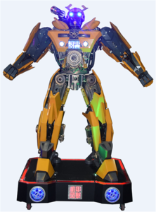 Large Robot toy for amusement playgrounds or shopping mall