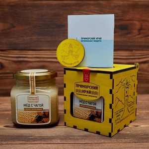 Linden Organic Honey With Chaga