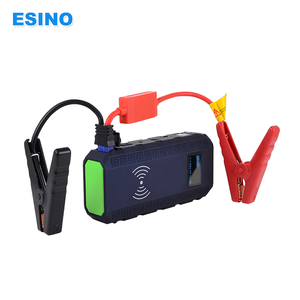 Multi-function Wireless Jump Starter Emergency Tools 12V Mini Auto Battery Wireless Charger