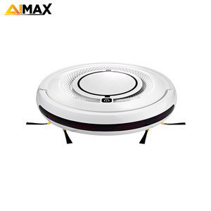 New Arrival 1200Pa Suction Sweeping Vacuuming Mopping Thin Robot Cleaner With Anti-Crash