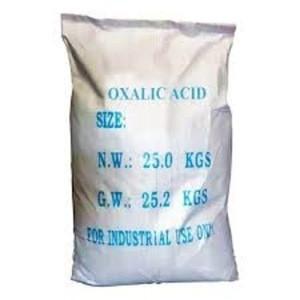 Organic Chemicals Oxalic Acid C2H2O4 99.6%