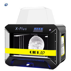 QIDI TECH 3D Printer, Large Size X-Plus Intelligent Industrial Grade 3D Printing with Nylon, Carbon Fiber, PC