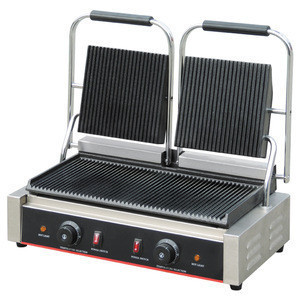 Stainless Steel Panini Press Sandwich Maker,Electric Contact Grill BN-813(CE Approval)