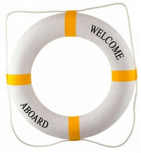 Swimming pool equipment rescue ring life buoy