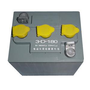 Tourist car battery 6v 180Ah(3-D-180) with grey color case