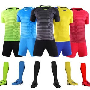 Wholesale Custom Men Football Kit Design Your Own Soccer Jersey