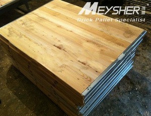 Wooden pallets/plywood board for concrete brick /block making machine