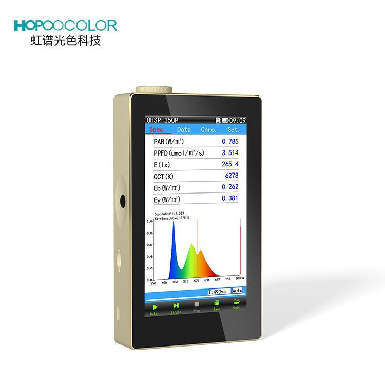 OHSP-350P plant growth light spectrum analyzer Plant Spectral Color Analyzer