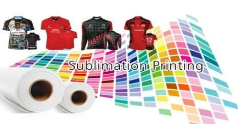 Fast dry sublimtion paper on Digital fabric printing
