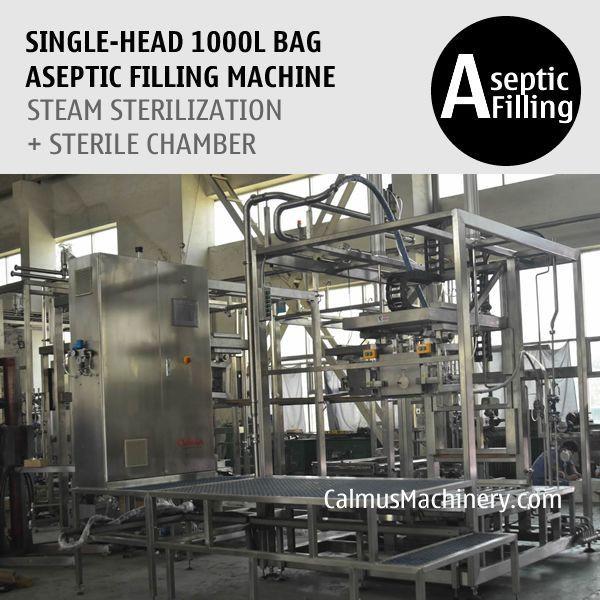 1000 Litre Bag Aseptic Filling Machine IBC Liner Bag Aseptic Filler