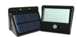 LED solar motion sensor light S-206
