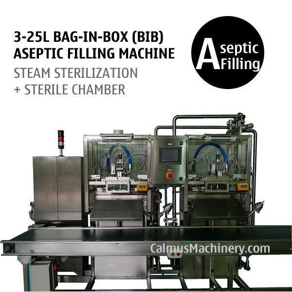 Semi-automatic BIB Aseptic Filler Sterile Products Bag in Box Aseptic Filling Machine