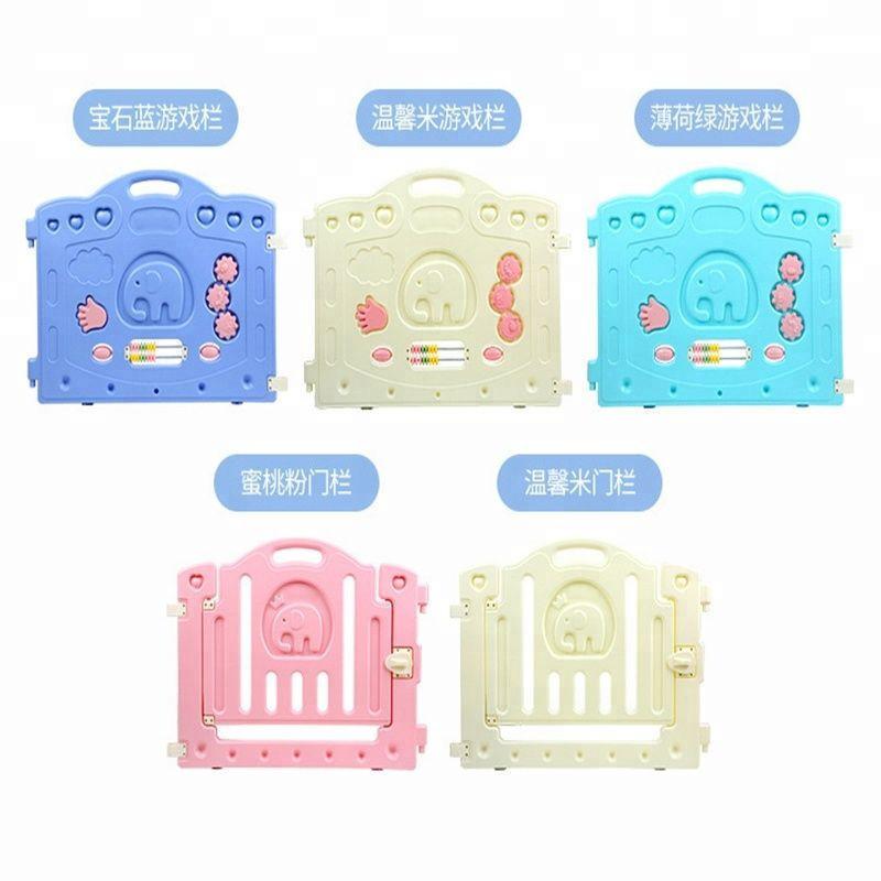 Best Quality Plastic Baby Safe Fence Kindergarten Family Wholesale Kids Playpen Baby