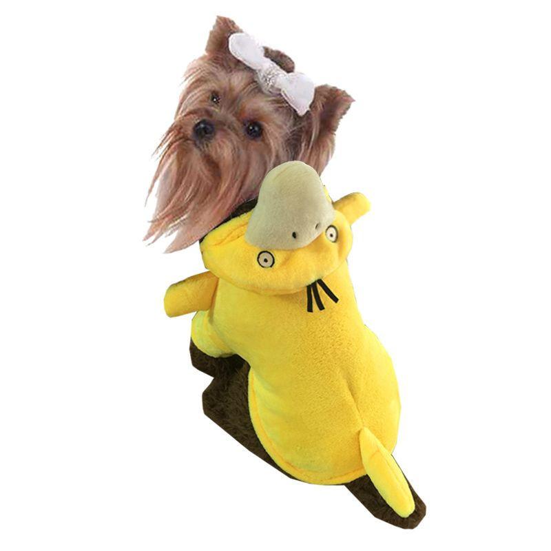 Small dog pet clothes pet pokemon costume Reachable duck
