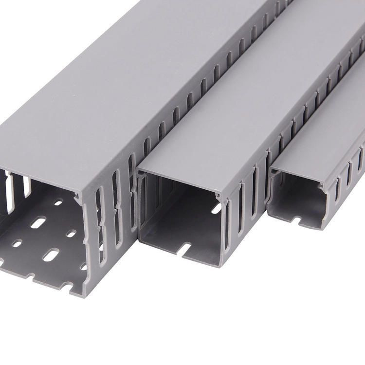 Wiring duct,PVC wiring duct, Slotted Cable trunking