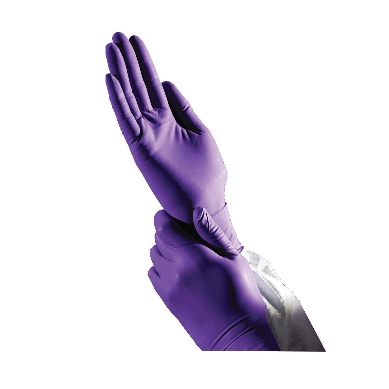 KC 500 Powder Free Purple Nitrile Examination Gloves