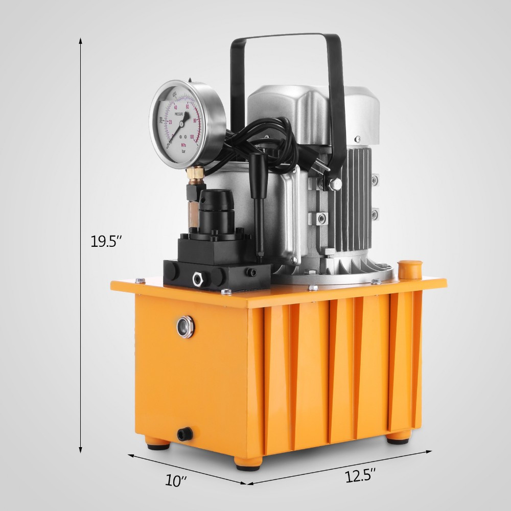 10000 PSI Double Acting Electric Driven Hydraulic Pump with High Performance