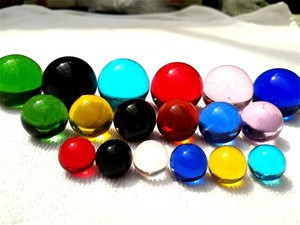 16mm 18mm 20mm 25mm 30mm solid colored glass marbles