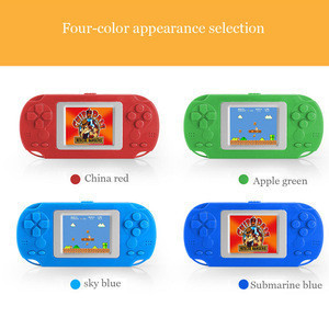 2.0 Inches Childhood Portable Pocket Handheld Childrens Puzzle Game Classic Player With Built-in Speaker 268 Classic Games