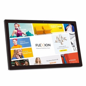 21.5 inch 10-Point capacitive touch screen android digital photo frame
