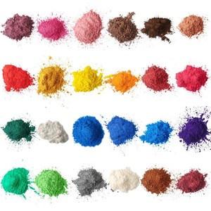 24 colors neon mica powder colorful neon pigment