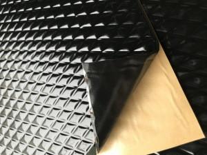 2mm * 460mm * 800mm Car Sound Deadening Mat Damping Butyl Rubber Shock Plate butyl rubber soundproof materials
