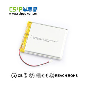 3.7V-554856-1500mAh mobile phone digital camera electronic dictionary reader polymer lithium battery