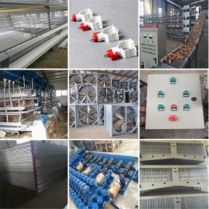 4 tier galvanized aluminum animal battery layer cage egg chicken poultry farm layer egg chicken cage/automatic cage for chickens