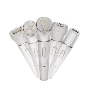 5 in 1 Rechargeable Electric Lady Shaver epilator