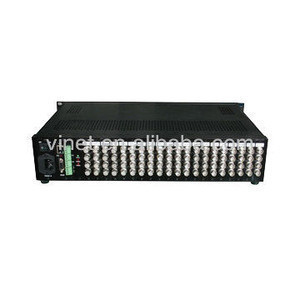 64x4 matrix switcher for monitoring center(video audio matrix switcher)