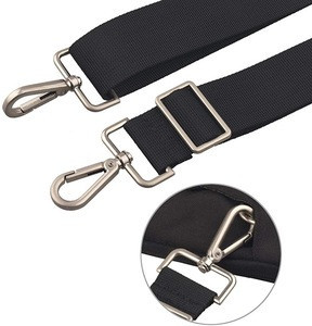 Adjustable Replacement Bag Strap Shoulder with Metal Swivel Hooks for Messenger, Laptop, Camera.