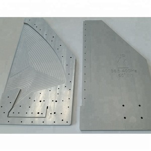 Anodized aluminum custom parts for communication device signal transmission