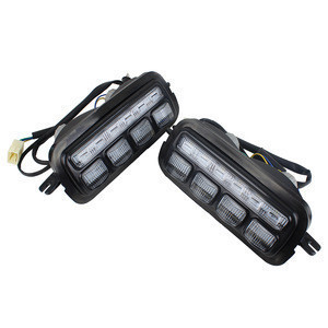 Auto Lighting System DRL LED Driving Lights Daytime Running Light For Lada Niva 4x4 Parts Day Time Lamp