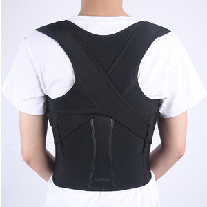 Best Neoprene Adjustable Lumbar Upper Posture Corrector Back Support Belt Vest Brace