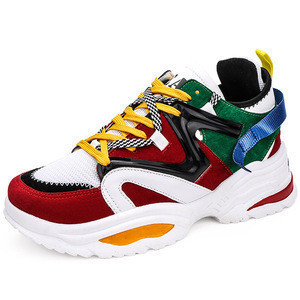 China supplier direct wholesale cheap price low moq good quality height Increasing custom unisex casual fashion mens shoes 2019