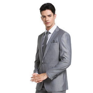 Classic custom made to measure mens business suit with multiple choices of bright color