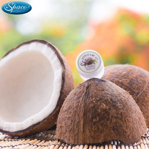 Coconut lip Blam stick creamy oil  extraction in cream for Lips lifting up Anti Wrinkle & Whitening lips Product of Thailand
