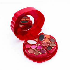 Colorful daily use ladies makeup sets make up cosmetics gift tool kit