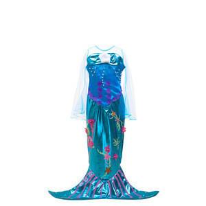 Costume Halloween Party Ariel The Little Mermaid Cosplay Kids Dress Bag Quantity Movie