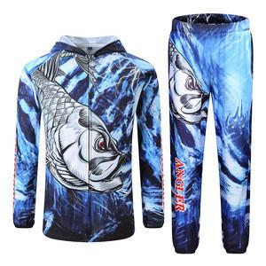Custom 4xl long sleeve cheap fishing shirts uv protection quick dry wading jacket fishing tournament fishing hoodie