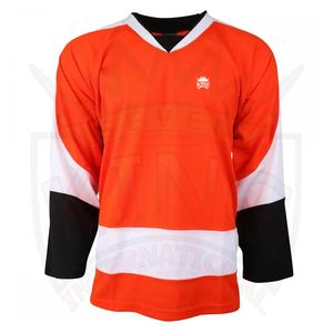 Custom Design 100 % Polyester Ice Hockey Jersey In Sports Wear