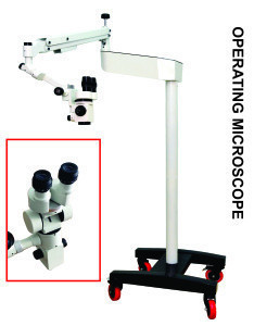 Dental Microscope with Big LED Tv