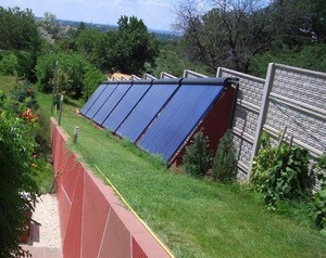 Evacuated tube solar collector (58PA)
