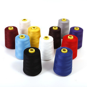 Factory Sale 100% Polyester High Tenacity Sewing Threads 40/2 40s/2 402 10000 yards