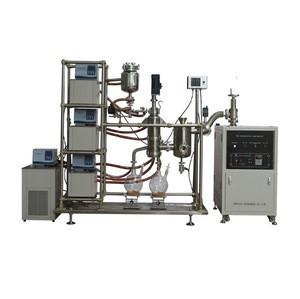 Fast evaporation Large Distillation Area cbd Short Path Distillation System